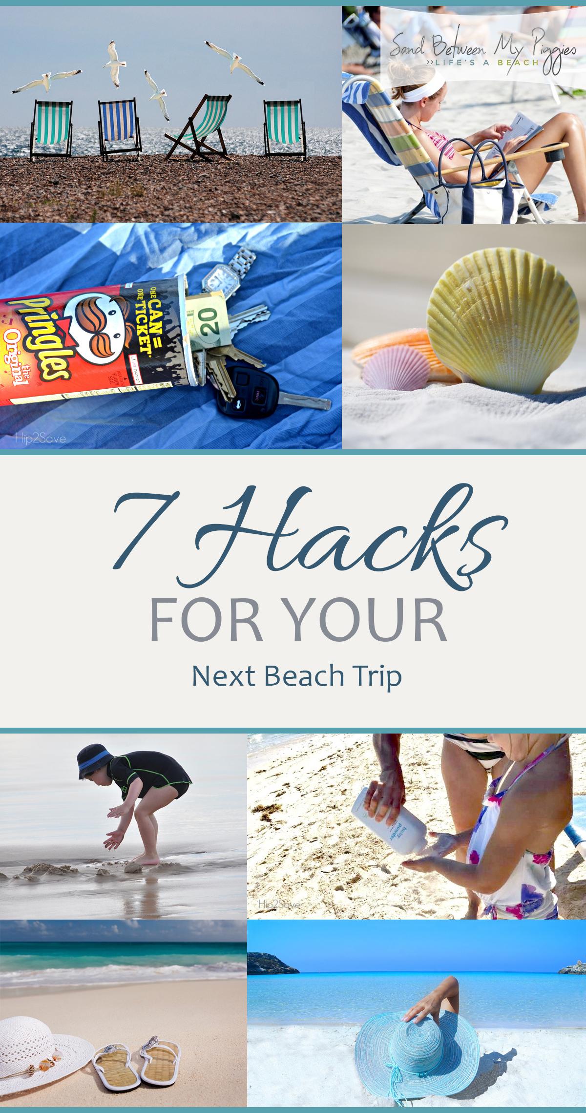 Beach Trip, Beach Hacks, Hacks for the Beach, Beach Vacation, Beach Vacation Tips and Tricks, Vacation Tips for the Beach, Cheap Beach Vacation, Popular