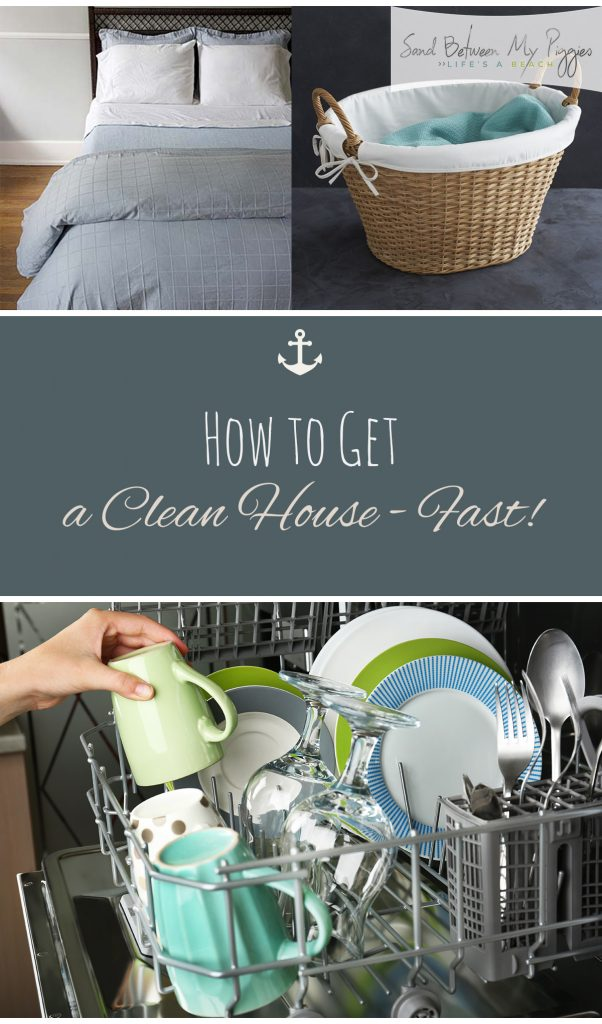 How to Get a Clean House-Fast! Cleaning, Cleaning Tips and Tricks, Home Cleaning Tips, How to Clean Your Home, How to Get Rid of Clutter, Organization, Home Organization, Organization Tips and Tricks, Cleaning, How to Clean Your Home Fast, Fast Cleaning Hacks