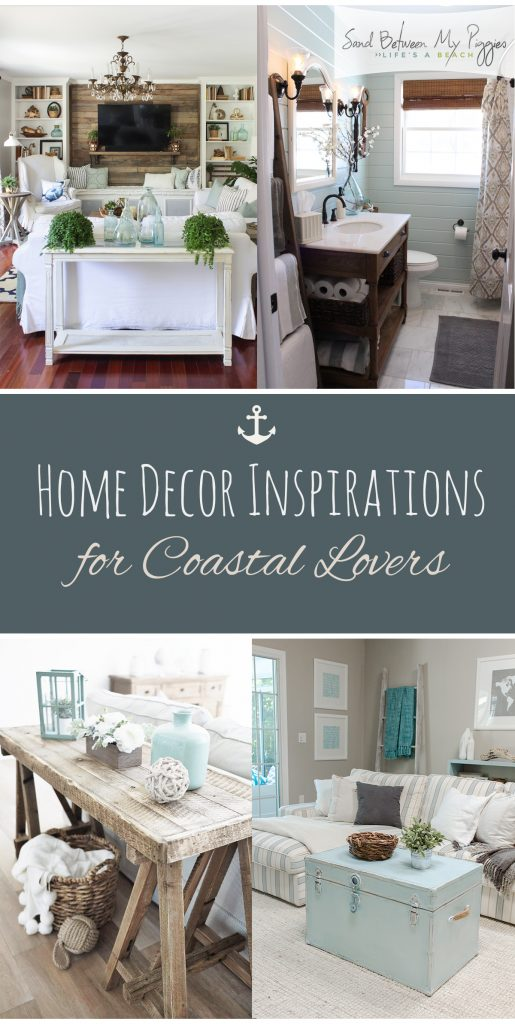 Home Decor Inspirations for Coastal Lovers| Coastal Home Decor, Home Decor Inspirations, Home Decor DIY, Coastal Home Decor DIY, DIY Home Decor, Home Decor Inspirations, Popular Pin