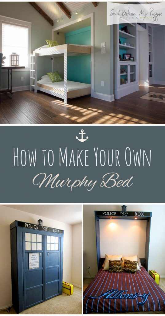 How to Make Your Own Murphy Bed - DIY Murphy Bed, Murphy Bed, Murphy Bed Projects, DIY Murphy Bed, How to Make Your Own Murphy Bed, DIY Bedroom, DIY Bedroom Projects, Popular Pin