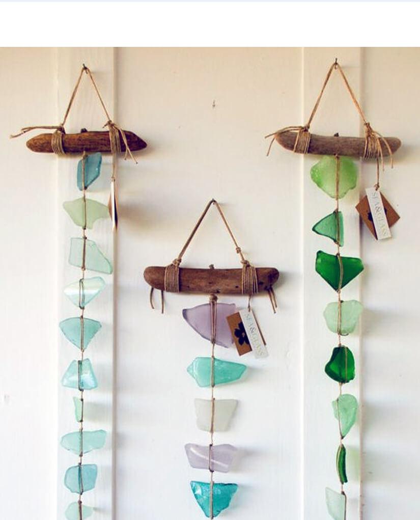 Broken Glass Craft Ideas