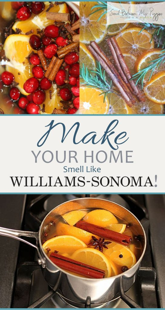 Make Your Home Smell Like Williams-Sonoma!| Smell Hacks, Home Smell Hacks, Williams Sonoma Potpourri, Potpourri Recipes, Easy Potpourri Recipes, Popular Pin