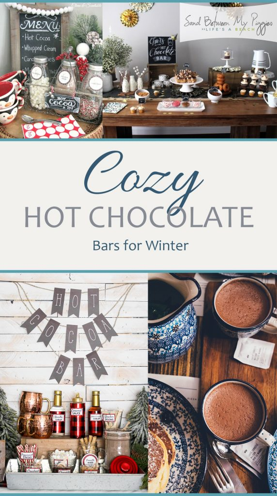 Cozy Hot Chocolate Bars for Winter| Hot Chocolate Bars, DIY Hot Chocolate Bars, Christmas, Christmas Party, Christmas Party Hacks, Homemade Hot Chocolate Bars, Popular Pin #HotChocolate #Christmas #ChristmasParty