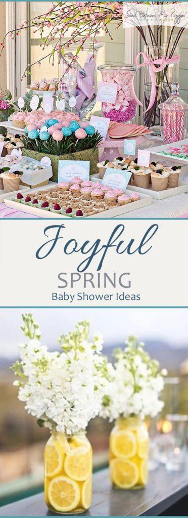 Joyful Spring Baby Shower Ideas - Sand Between My Piggies| Spring, Spring Baby, Spring Baby Shower, Baby Shower Ideas, Fun Baby Shower Ideas, Spring Baby Shower DIYs, Baby Shower DIYs, Popular Pin #Spring #BabyShower #DIYBabyShower