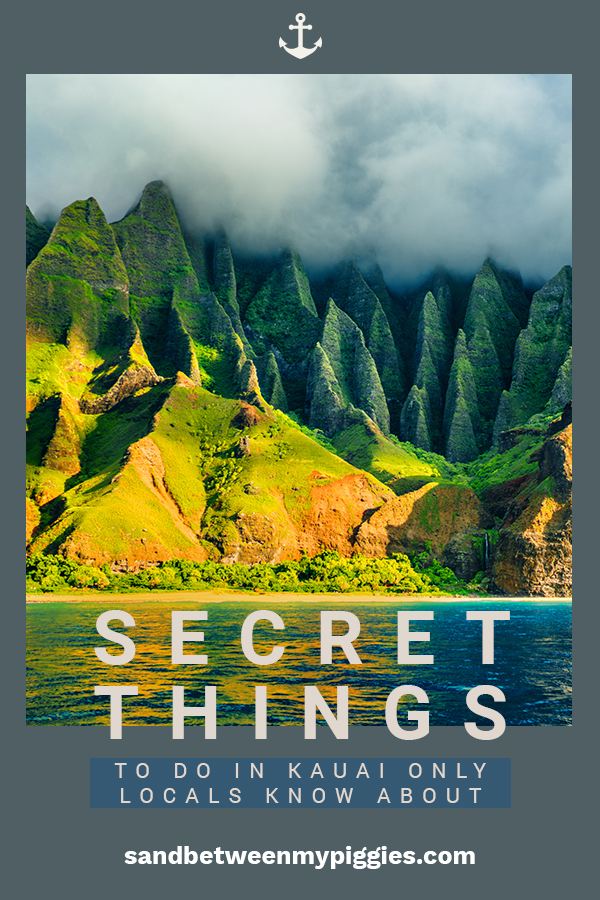 Kauai is my favorite Hawaiian island. I've met a few people who live there and they shared some secret things to do that only locals know about. These are great for those who like adventures, those with kids, or even those on a honeymoon. Check out these must know secrets and tips if you are going to Kauai.