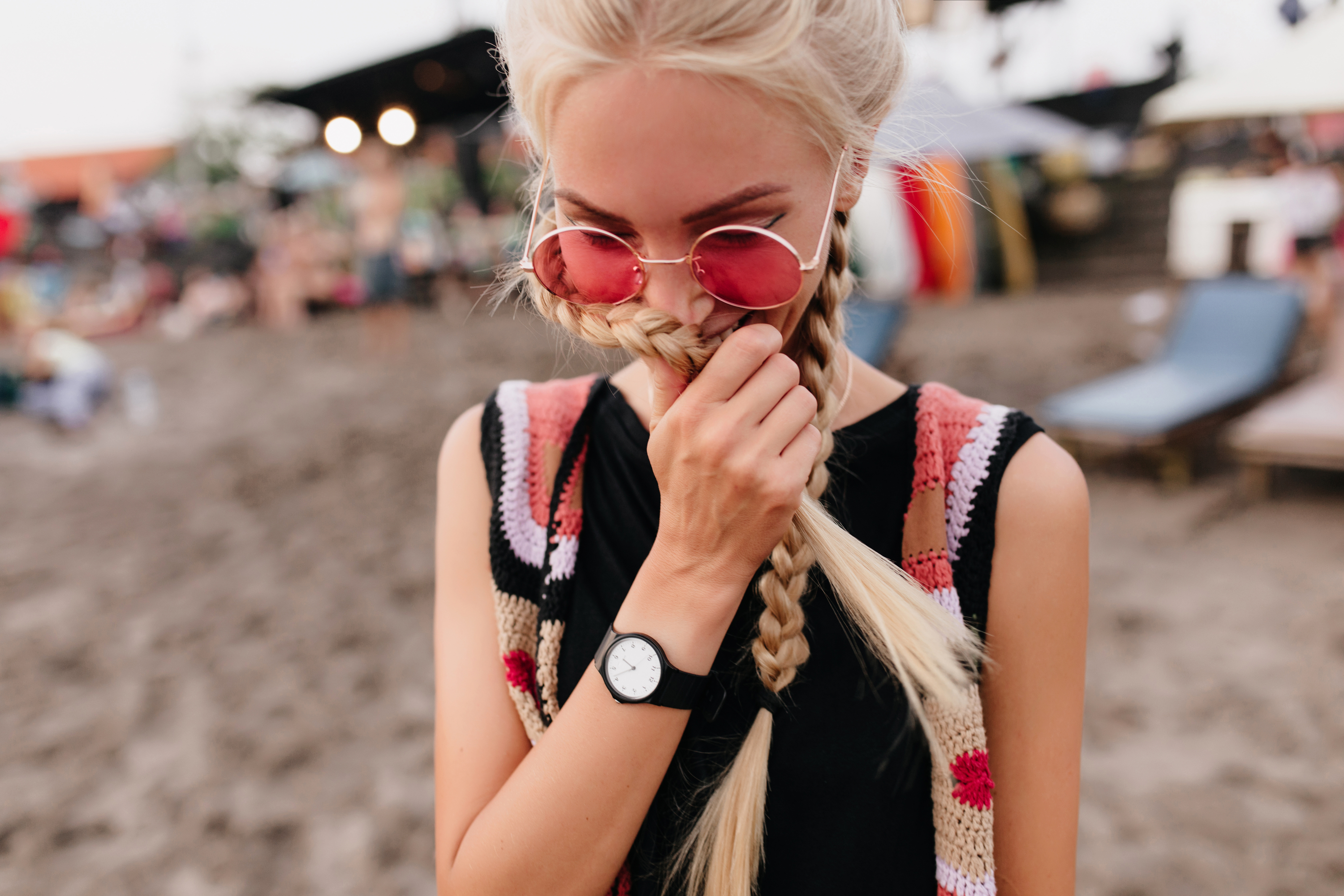 There is nothing worse than dealing with your hair while you're traveling. These travel hairstyles will help keep your hair under control. You can't ever go wrong with braids. They're trendy and practical.