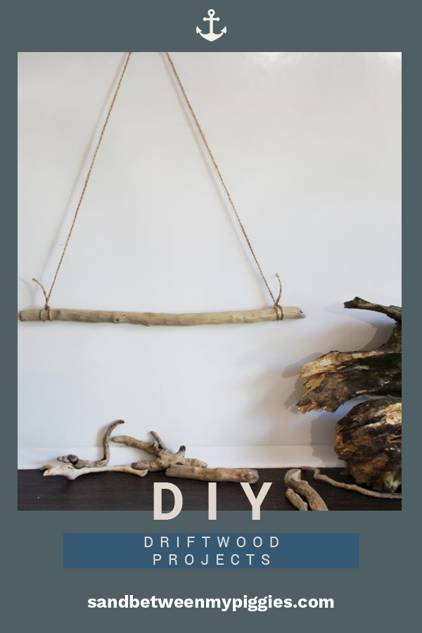 Every trip to the beach comes with seeing some driftwood. While most admire the rustic shape and look, many never pick it up. Not only do I pick it up, I take it home with me because I love to use it for home decor. Read on to learn about how you can incorporate driftwood into your home whether it is hanging on a wall, on the porch, or just if you need some more ideas. Keep afloat with the latest in coastal home decor when you read this post. #driftwood #coastalhomedecor #DIYhomedecorideas